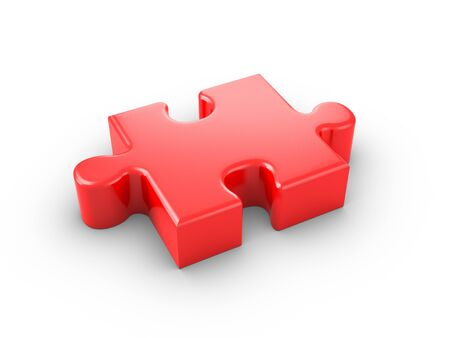 Jigsaw Piece. Stockfoto