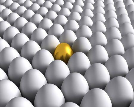 golden egg: Golden egg Stock Photo