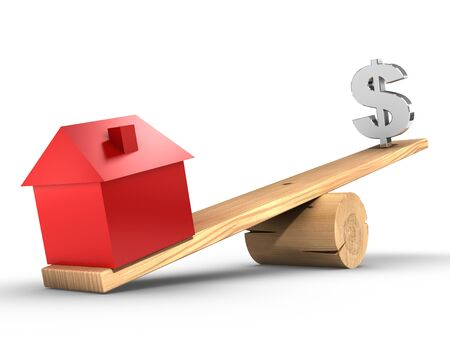 Real Estate. Stockfoto