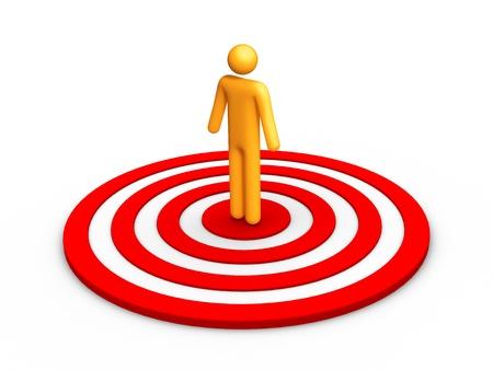 ideal: Target Stock Photo