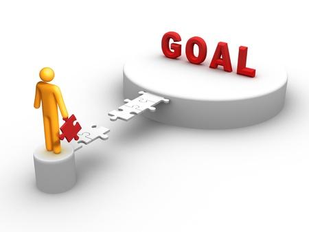 Goal. Stock Photo - 9549009
