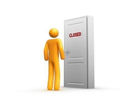 Closed Stock Photo - 9596687