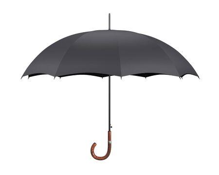 lluvia paraguas: Paraguas abierto