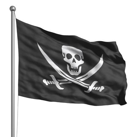 national identity: Bandiera pirata Archivio Fotografico