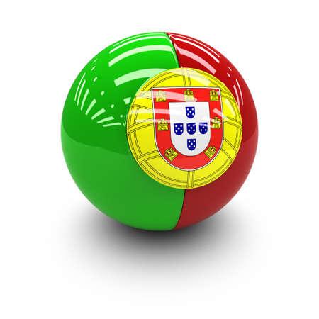 drapeau portugal: 3D - Drapeau du Portugal Banque d'images