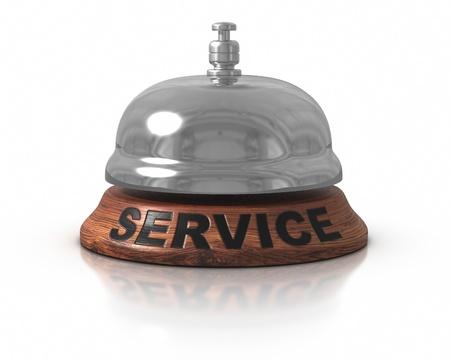 campanas: Bell de servicio