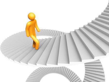 Ladder of Success. Stock Photo - 9596740