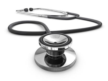 stetoscoop: Stethoscoop (geïsoleerd)