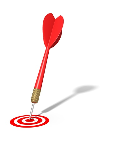 place of employment: Dart Hitting Target