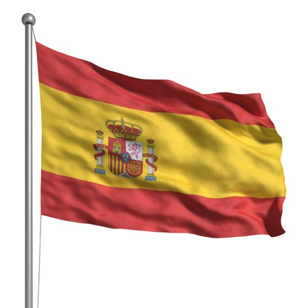 Flag of Spain Stock Photo - 9646565