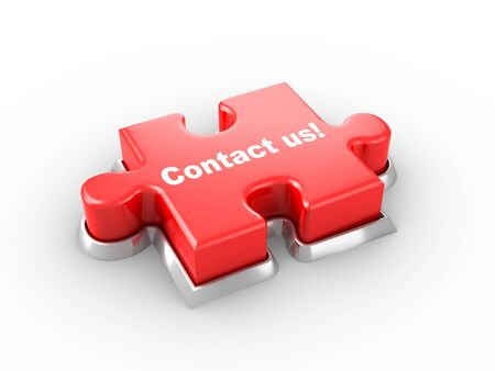 Contact us! Stock Photo - 9646558