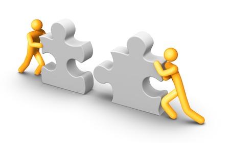 strichm�nnchen: Teamarbeit
