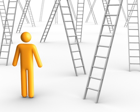 undecided: Ladder of Success