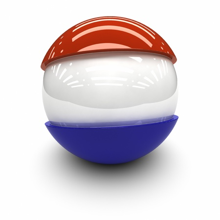 territorial: 3D  - Flag of The Netherlands