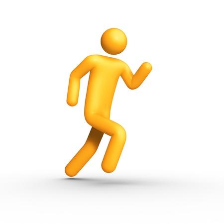 strichm�nnchen: Laufen