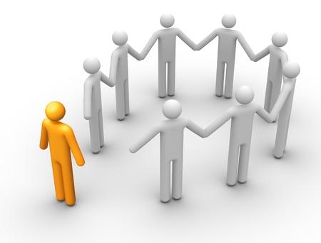 membres: Groupe de personnes.