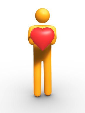 My Heart Stock Photo - 9710603