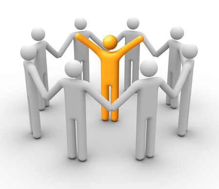 Group of People. Stock Photo - 9710899