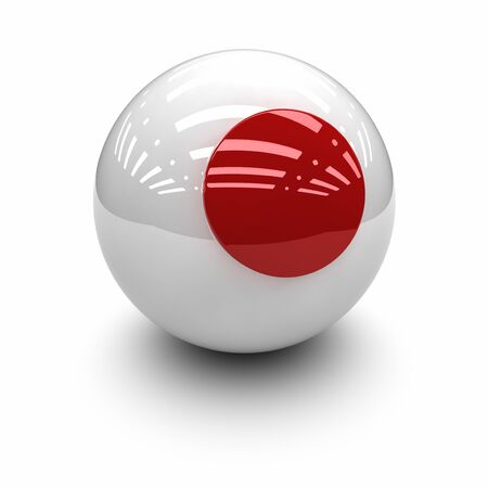 territorial: 3D  - Flag of Japan