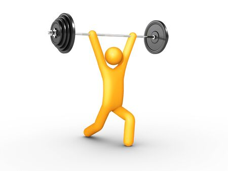 activity exercising: Clean and Jerk