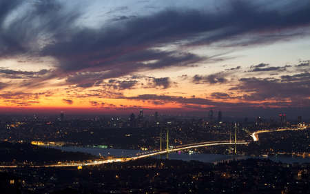bosphorus: Bosphorus Bridge Stock Photo