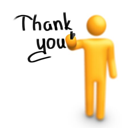 Thank you! Stock Photo - 9710888