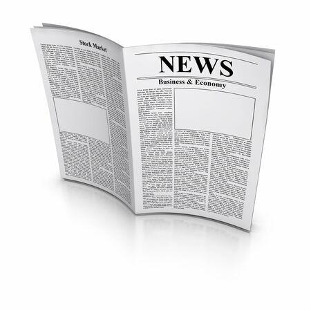 Newspaper Banque d'images