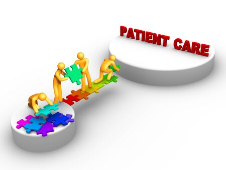 team work for patient care Stock Photo - 9711207