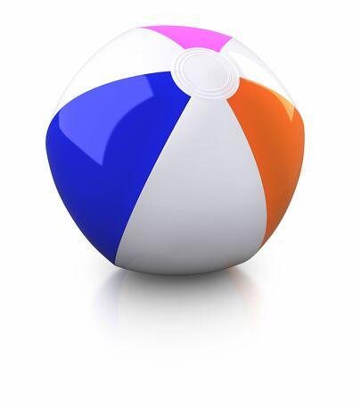 bola de billar: Pelota de playa