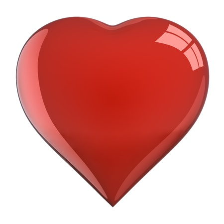 Heart Shape (isolated) Stock Photo - 9805185