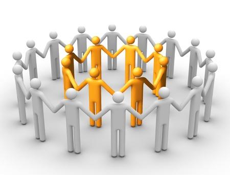 fellowship: Group of People.