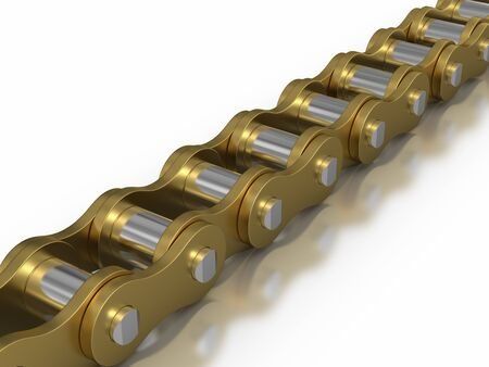 fietsketting: Gold - Bicycle chain