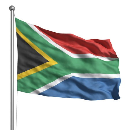 Flag of South Africa Stock Photo - 9805237