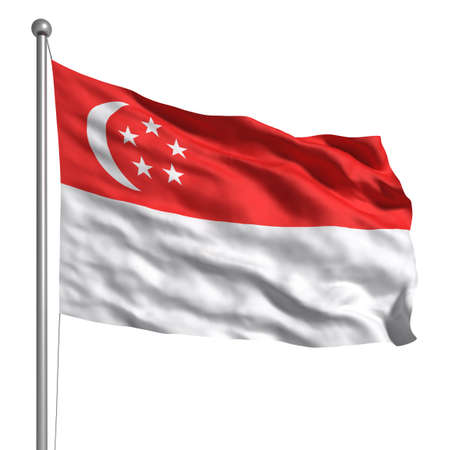 singaporean flag: Singaporean flag