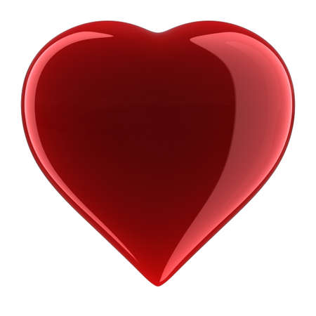 Heart Shape. Clipping path included. Stock Photo - 9942820