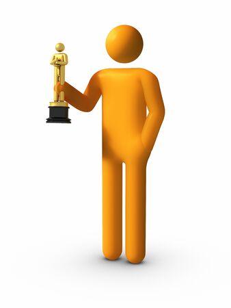 sean: Mostrando il suo Academy Awards (Sean Penn stile :))