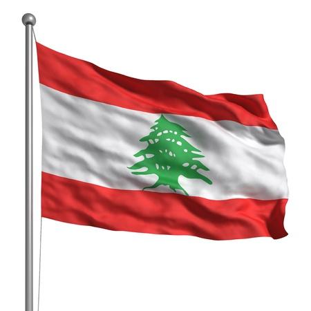Flag of Lebanon photo