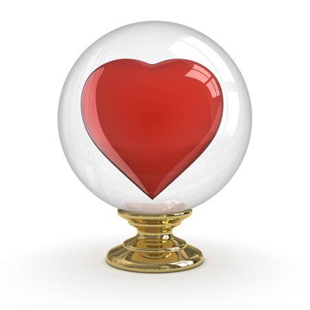 Fortune Teller - Fall in Love. Stock Photo - 9943418