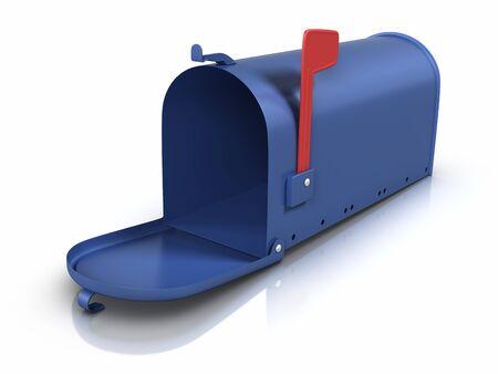 Opened mailbox. Stock Photo - 9943121