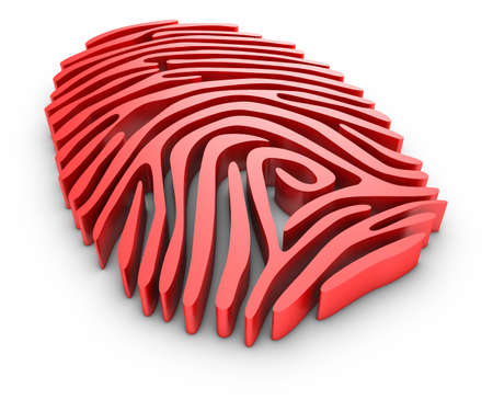 Finger print. Stock fotó