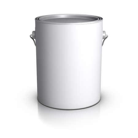 paint bucket: 3D Paint Can.