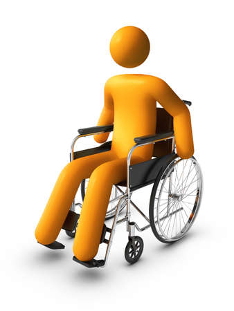 Wheelchair. photo