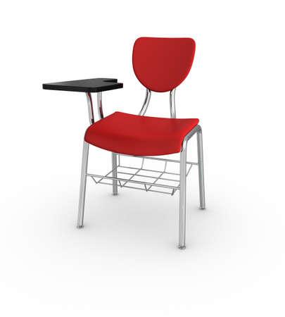 Skolan Desk Stockfoto