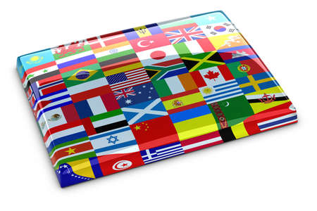 Collection of flags photo