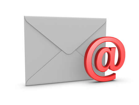 junk mail: Mail with @ symbol.