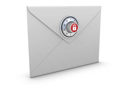 Secure Mail concept. Stock Photo - 10033859