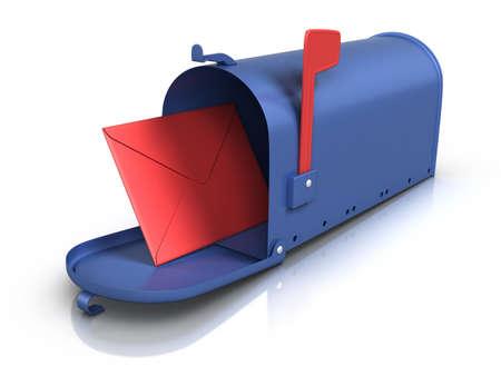 Mailbox. photo