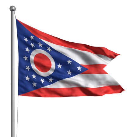 ohio: Flag of Ohio.