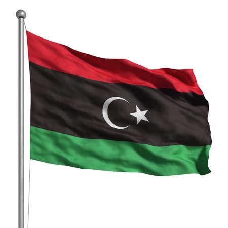 libya: Flag of the Libyan Republic