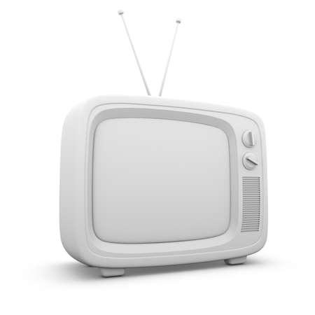 old fashioned tv: Retro TV